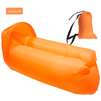 Portable Lazy Sofa Sleeping Bag Camping Outdoor Inflatable Bag Bed Garden Sofa Air Bed Beach Lounge Chair Fast Folding 240*70