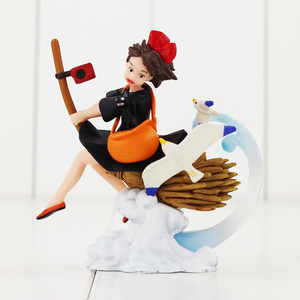 Image 4 - 9 13CM Totoro Spirited Away The Castle in the Sky MIYAZAKI HAYAO Howls Moving Castle Kikis Delivery Service figure