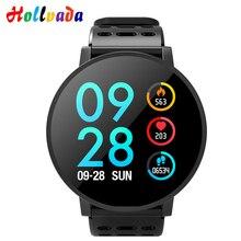 Hollvada T3 Смарт-часы Водонепроницаемый IP67 активности Фитнес трекер HR крови кислородом артериального давления часы Для мужчин женские умные часы
