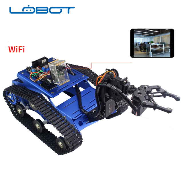 LOBOT Robot Remote Control Tracked Vehicle Caterpillar