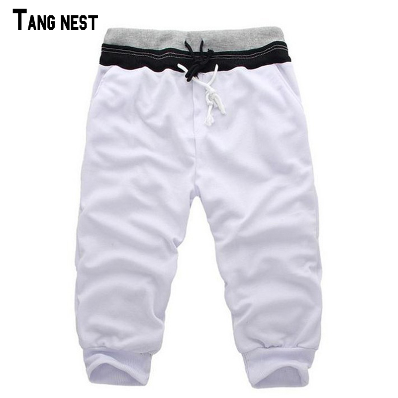 TANGNEST 2017 New Men s Shorts Drawstring Loose Casual Shorts Outwear Top Brand Four Colors B439