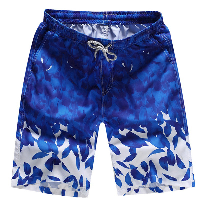 c6332f2843232 SHUJIN Summer 2019 Shorts Men Fashion Printed Quick Dry Mens Beach Shorts  Causal Drawstring Fitness Male