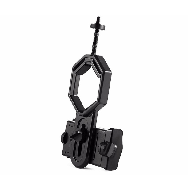 Scopes Telescope Microscope Accessories Universal Mobile Cell Phone Large Size Adapter Clip Bracket Mount Holder Newest 2018 universal digital camera mount adapter smart phone holder 55 95mm for spotting scopes
