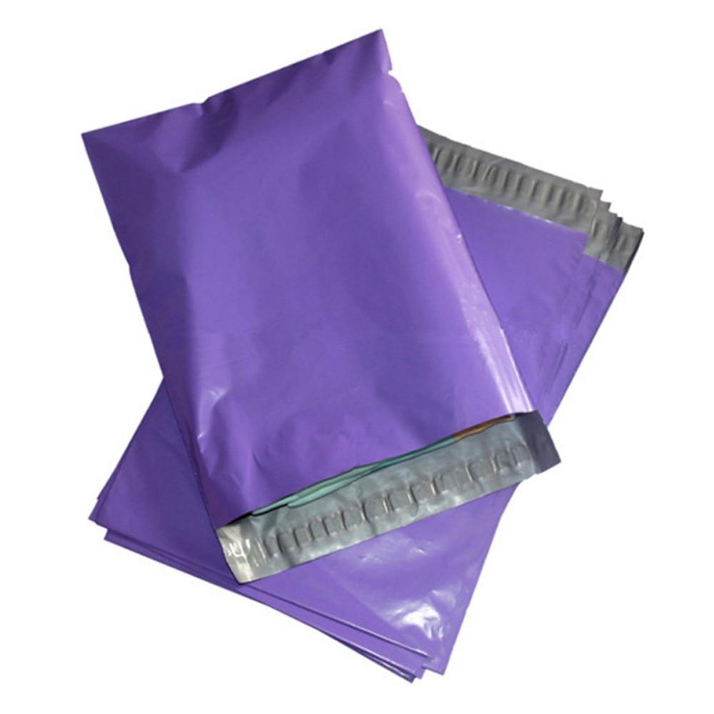Qese letre per zarfin Purple Mailer Express Courier Mailer Polifonik - Magazinimi dhe organizimi në shtëpi - Foto 2
