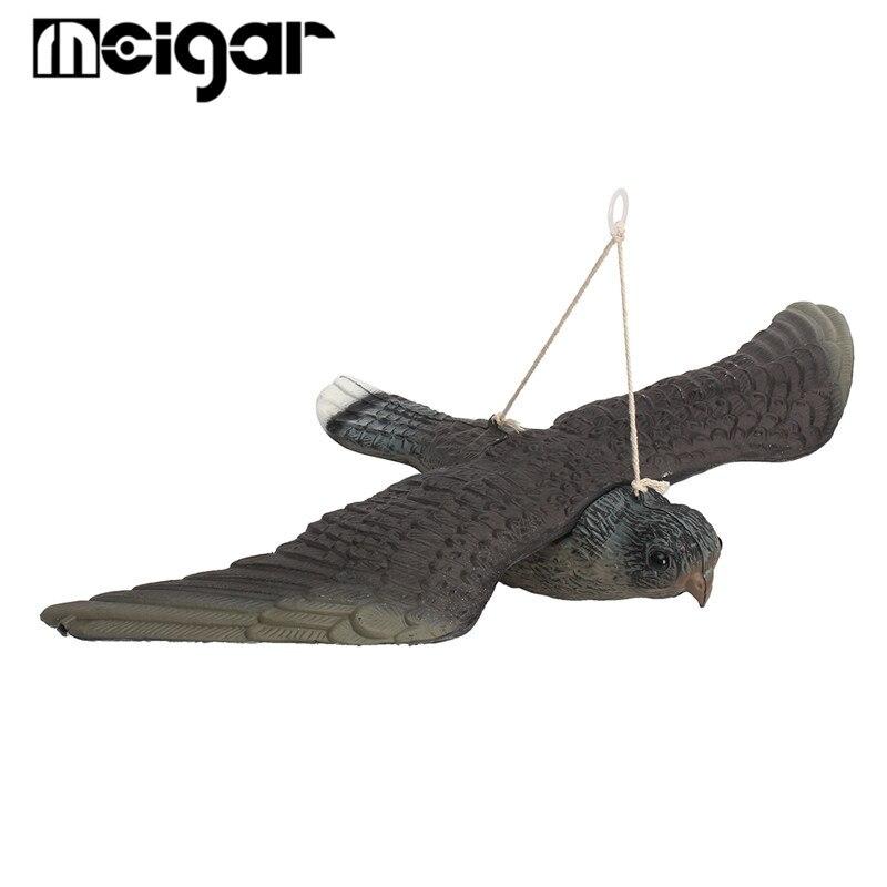 Fliegen Hawk Decoy Schädlingsbekämpfung Abweisend Predator Decoy Garten Scarer Scarecrow Vogel Abschreckung Outdoor Jagd Pest Scarer