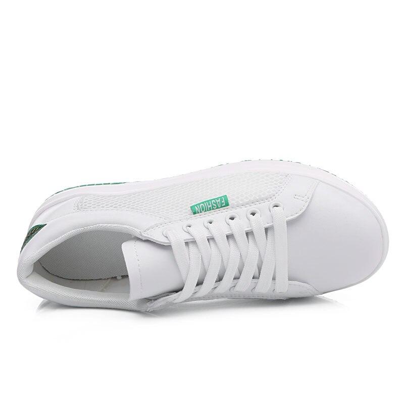 Спортивные кроссовки женщина открытый воздухопроницаемая комфортная обувь для него и для нее легкие спортивные кроссовки сетки Для женщин... - 6