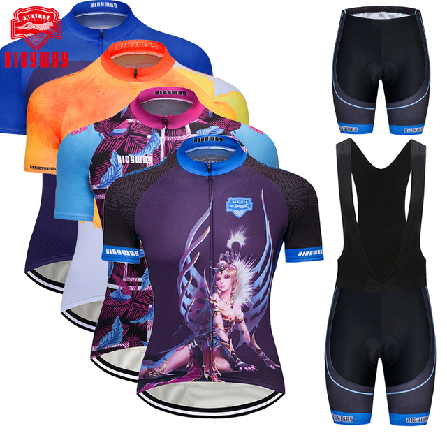 834f062e5 Bicyway Cycling Jersey Ropa Ciclismo Bicycle Cycling Clothing Mallot  Ciclismo 100% Breathable cycling clothes Short Sleeve Suite