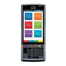 Casio IT-G500 4.3 Inch Touch Screen 2D Imager Mobile Computer Data Terminal Collection PN: IT-G500-C21C-CN