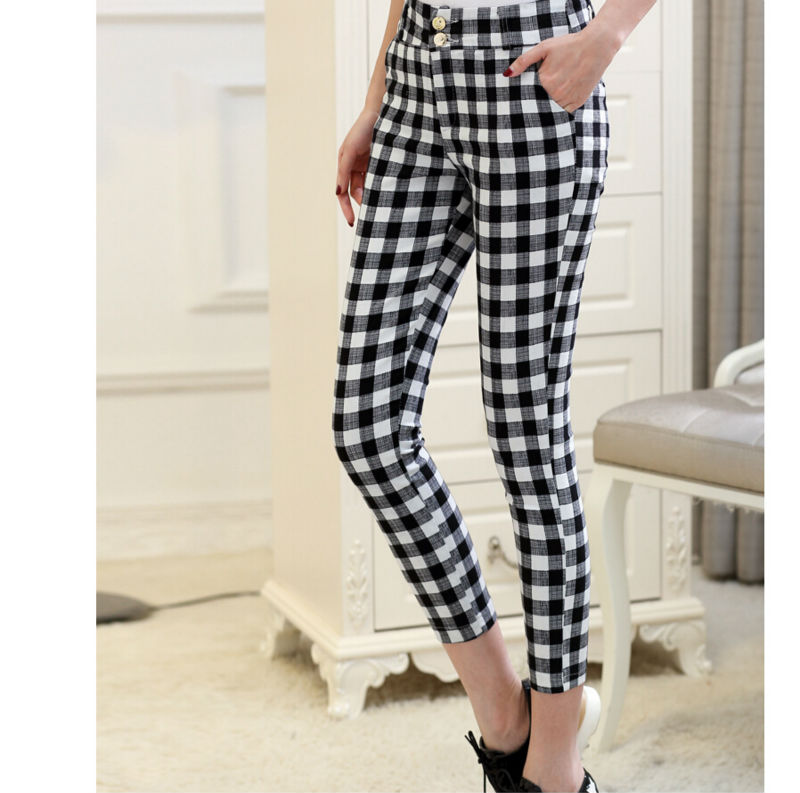 Online Get Cheap Black Plaid Pants -Aliexpress.com | Alibaba Group
