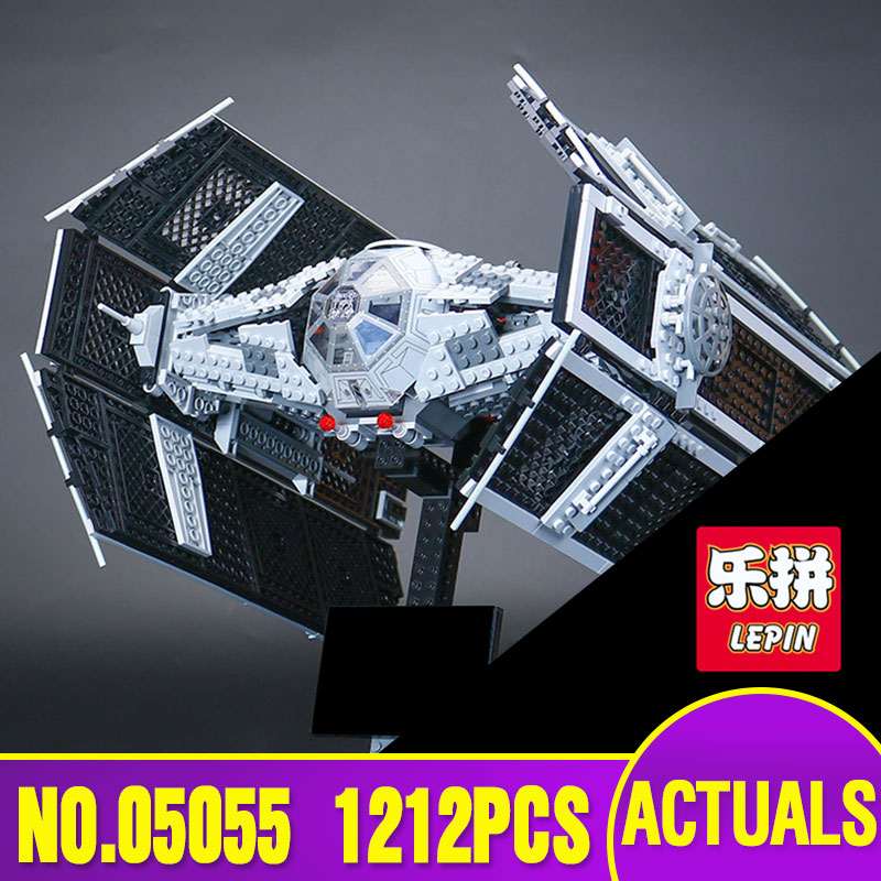 Lepin 05055 Star Series War The Rogue TIE One USC Vader Advanced Fighter Set Educational Building Blocks Bricks Toys Gift 10175 herbert george wells the war of the worlds