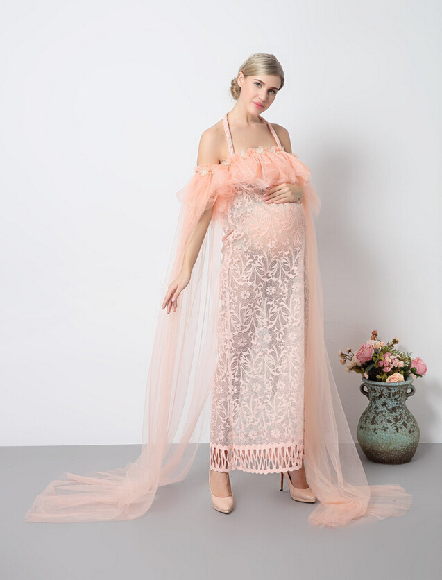 c8ca184ab0bb Fashion Maternity Photography Props Fancy pregnant women Dresses Pregnancy  Clothes Chiffon Dress Photo Shoot Session Dress-in Dresses from Mother &  Kids on ...