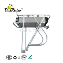 Discount Sample trial 36V 15Ah Rear Carrier Lithium Battery with Charger CE E bike Electric Bike