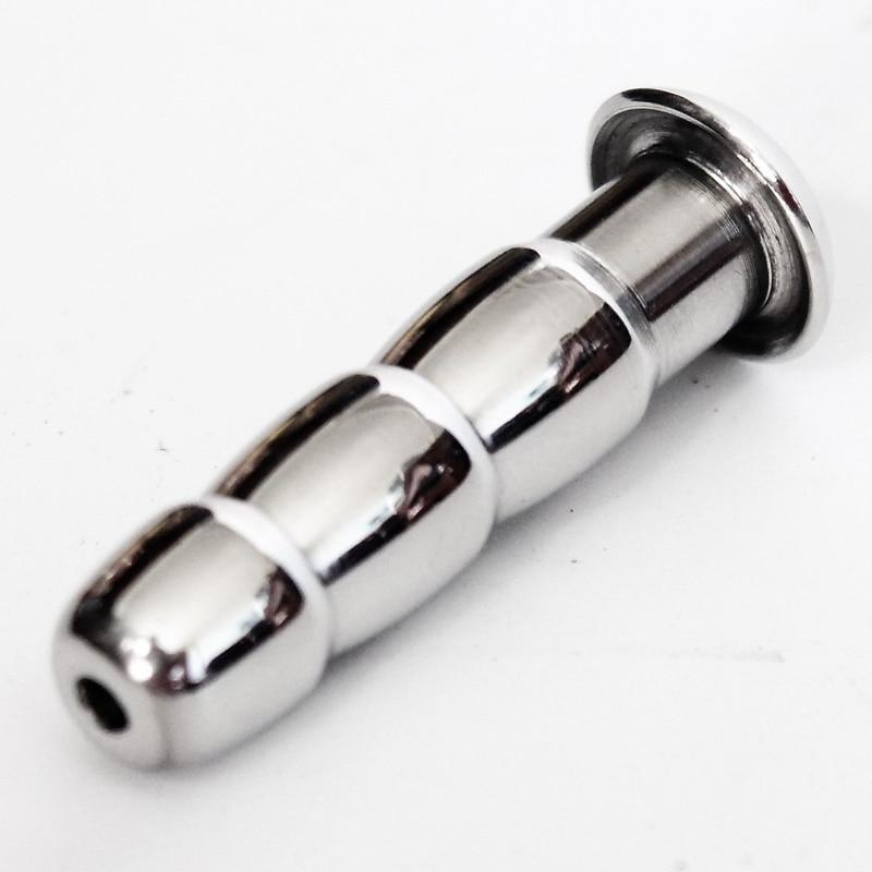 купить 50MM Long Stainless Steel Urethral Sound Dilators Penis Plug For Male Masturbator Penis Inserts Chastity Sex Toys по цене 275.39 рублей