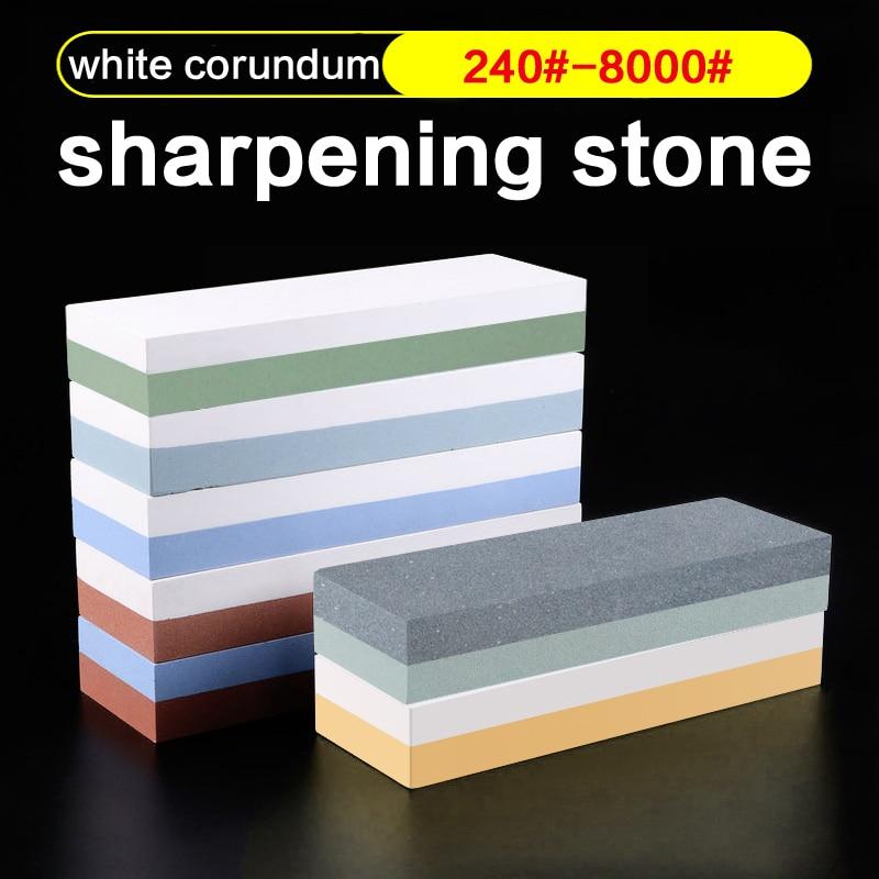1 st 600 1000 3000 # professionell Kök Whetstone Sharpening Stones för en Kniv Sharpener kökslipning