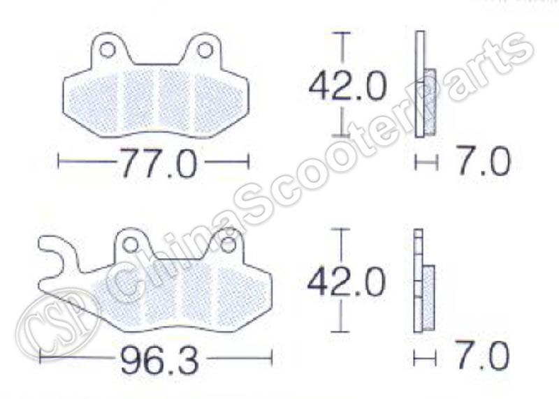 Tickas Fu/ßseitenst/änder,Kickstand Plate Pad Motorrad Zubeh/ör Fu/ß Seitenst/änder Erweiterung Cnc Aluminium Ersatz F/ür Yamaha Mt-07 Tracer 900 Xsr700 2014-2019