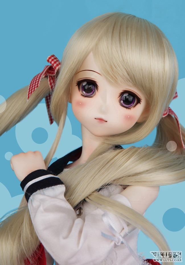 Luodoll BJD SD doll doll Girl Toy 1/4 Doll (free eyes + free make up) [wamami] aod 1 4 bjd dollfie girl doll parts single head not include make up meng ya qi