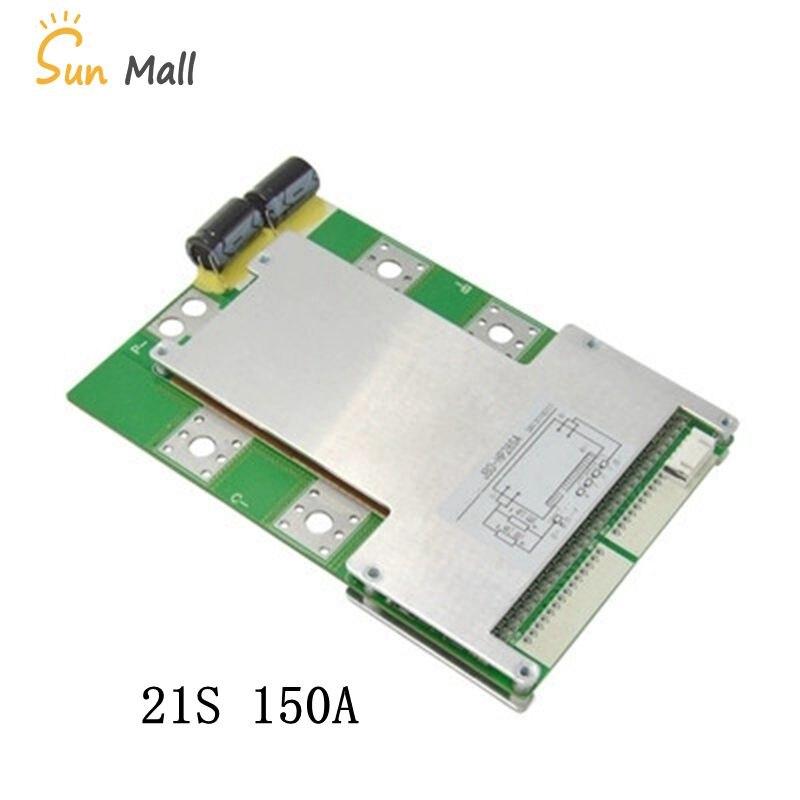 21 S 150A courant élevé avec l'équilibre même port BMS batterie au Lithium panneau de protection fer lithium polymère panneau bonne qualité