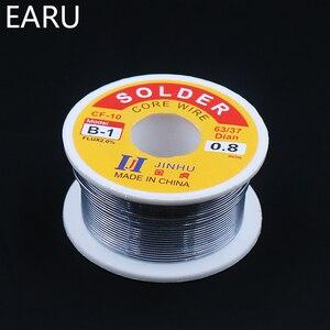 Image 5 - 100g 0.6/0.8/1/1.2/1.5/2 มม. ฟลักซ์ 63/37 2.0% 45FT ตะกั่วดีบุกลวด Rosin Core Solder ลวดบัดกรีสำหรับไฟฟ้าบัดกรีเหล็ก