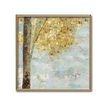 (No Framed) Factory wholesale Abstract tree series poster Custom Canvas Print On Printing Wall Pictures Home Decoration