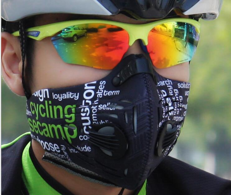 Bicycle outdoor riding dust-proof, anti fog and haze mask heat transfer PM2.5 protective mask BC-591 summer dust proof sunscreen neck mask female outdoor riding mask