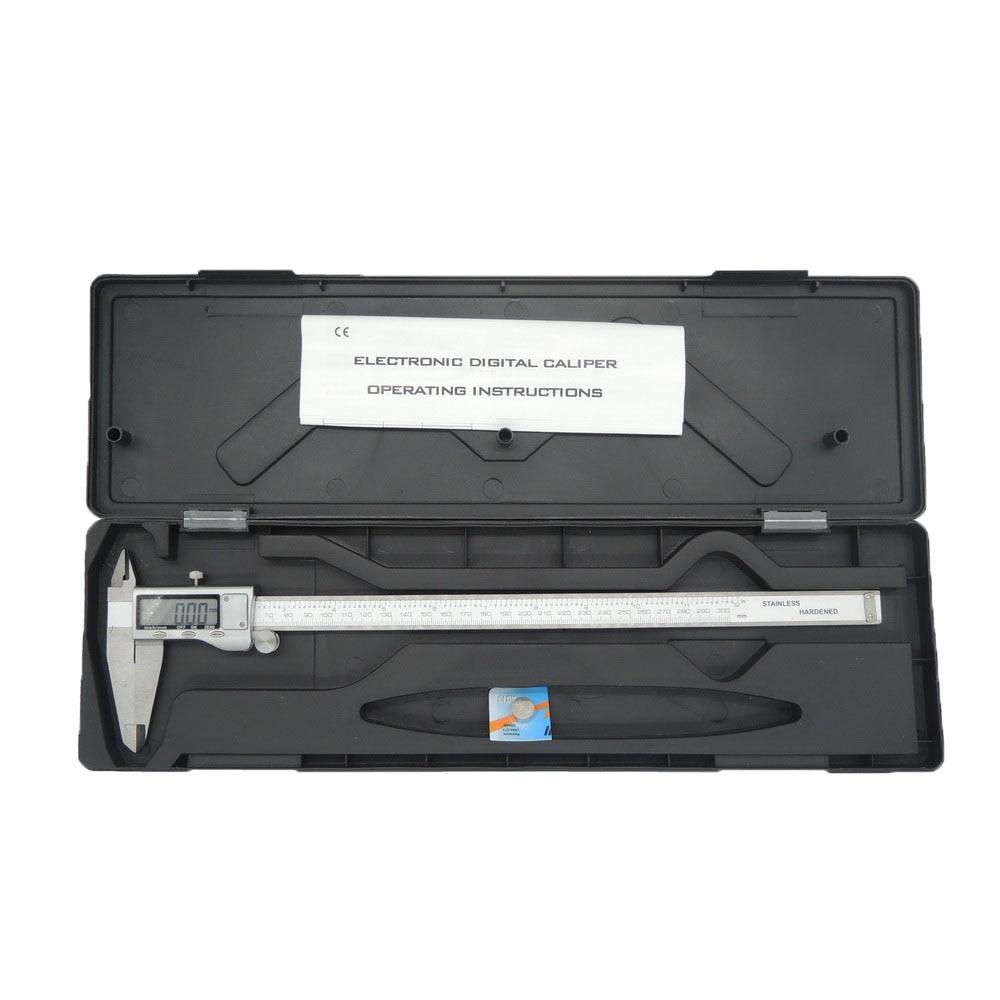 NEWACALOX 150 mm / 0,01 mm LCD obrazovka digitální měřicí - Měřicí přístroje - Fotografie 6