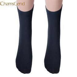 Chamsgend носок недавно Дизайн Для мужчин, Цвет Смешанный хлопок носки Прямая доставка