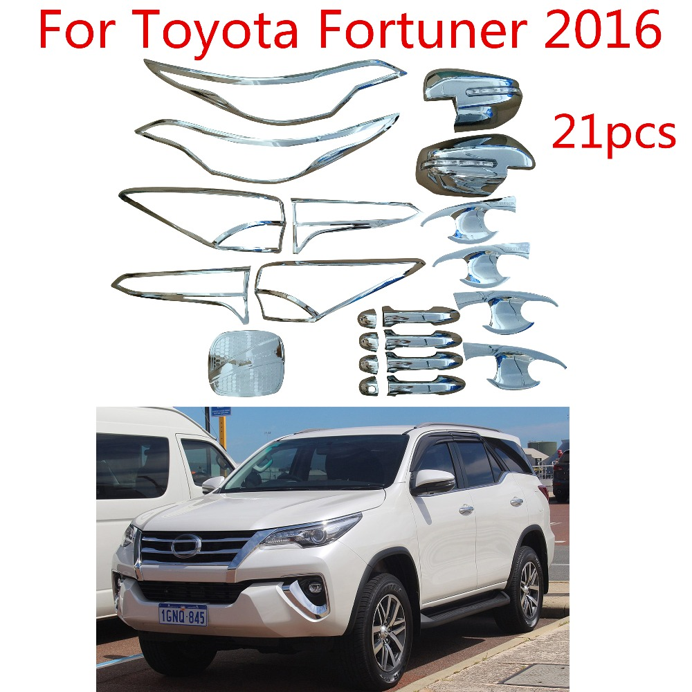 For Mazda 2003-2018 vehicle 2pc Chrome//Silver Side Body Trim Molding Kit