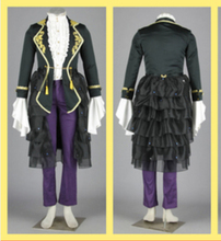 Vocaloid suit Gakupo Cosplay Costume  Kamui Gakupo set jacket+shirt+pant+apron set