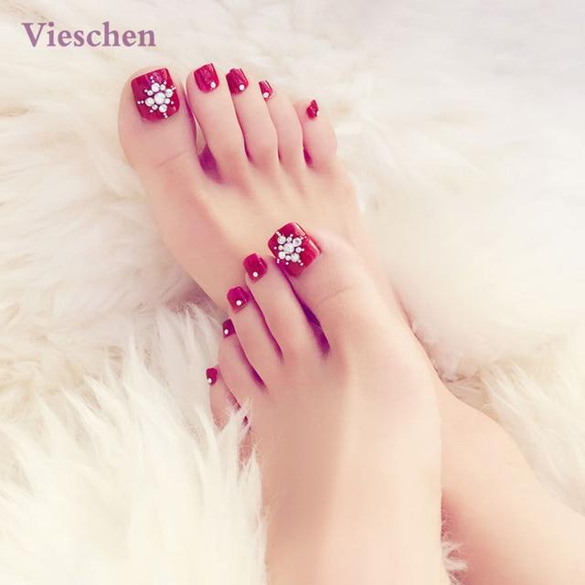 faux ongles pour pieds