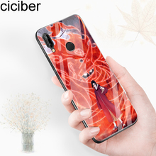 ciciber Cover For Huawei P30 P20 Mate 20 Pro Lite Phone Cases Honor 10 Tempered Glass Case Funda Capa Coque Naruto