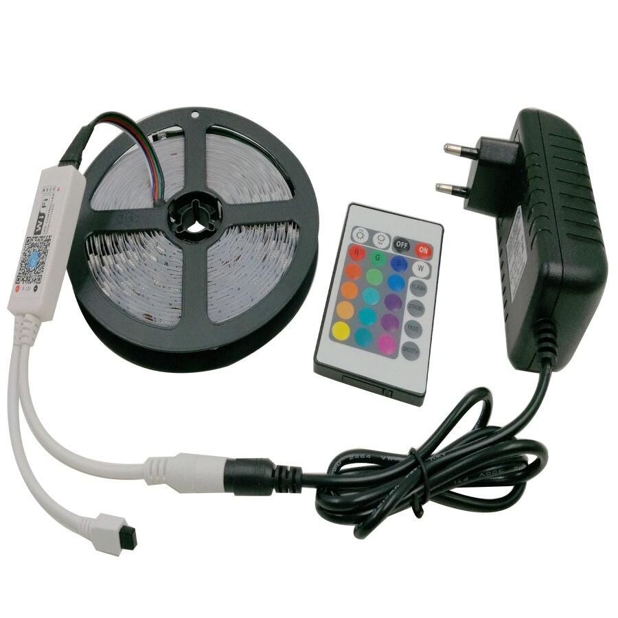5 Mt RGBW SMD 5050 Led-streifen IP20 DC12V 60 Leds/M 300 LEDs ...