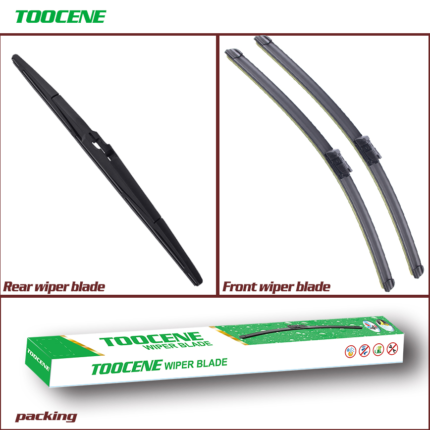 Front And Rear Wiper Blades For Opel Astra J 2009-2015 Windshield wiper Windscreen Car Accessories