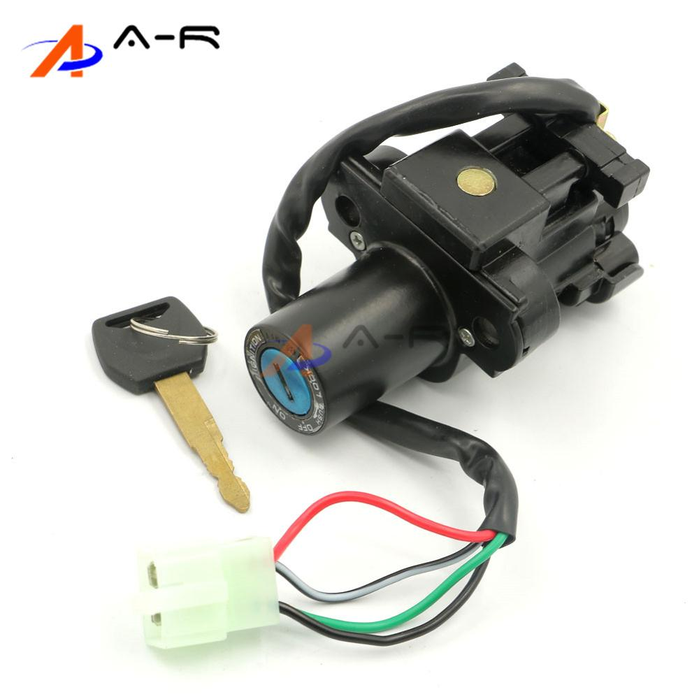 Ignition Switch Lock with Key Set for Honda ST1300/ Pan European ...
