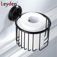 Leyden ORB Classical Toilet Paper Basket Shelf Wall Mounted Toilet Paper Holder Rack Tissue Basket Holder