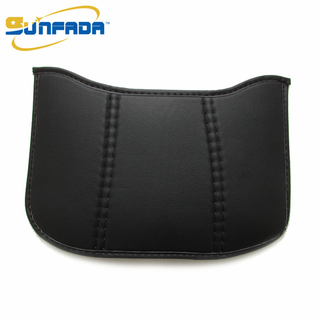 SUNFADA Synthetic Fiber Anti kick Protection Mat Car Anti-dirty Pad For HONDA FIT/ JAZZ 3rd Generation 2014-2017 Car Styling