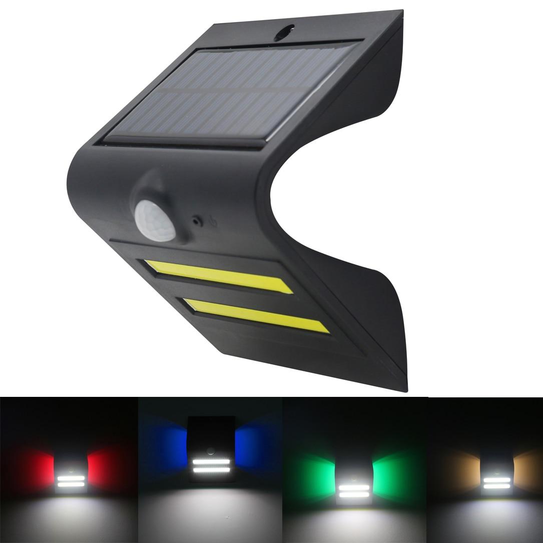 Waterproof Cob Led Solar Light Outdoor Solar Powered