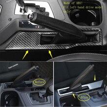 Lapetus Parcheggio Freno A Mano di Arresto Del Freno Maniglia del Pannello di Copertura Trim Accessori Interni Fit Per Toyota RAV4 Rav 4 2016 2017 2018 /ABS