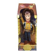 43 cm Toy Story 3 hablando Woody figuras de acción de juguete modelo muñeca  Anime PVC colección figura modelo juguetes para niño. 71cf8d1a7d4