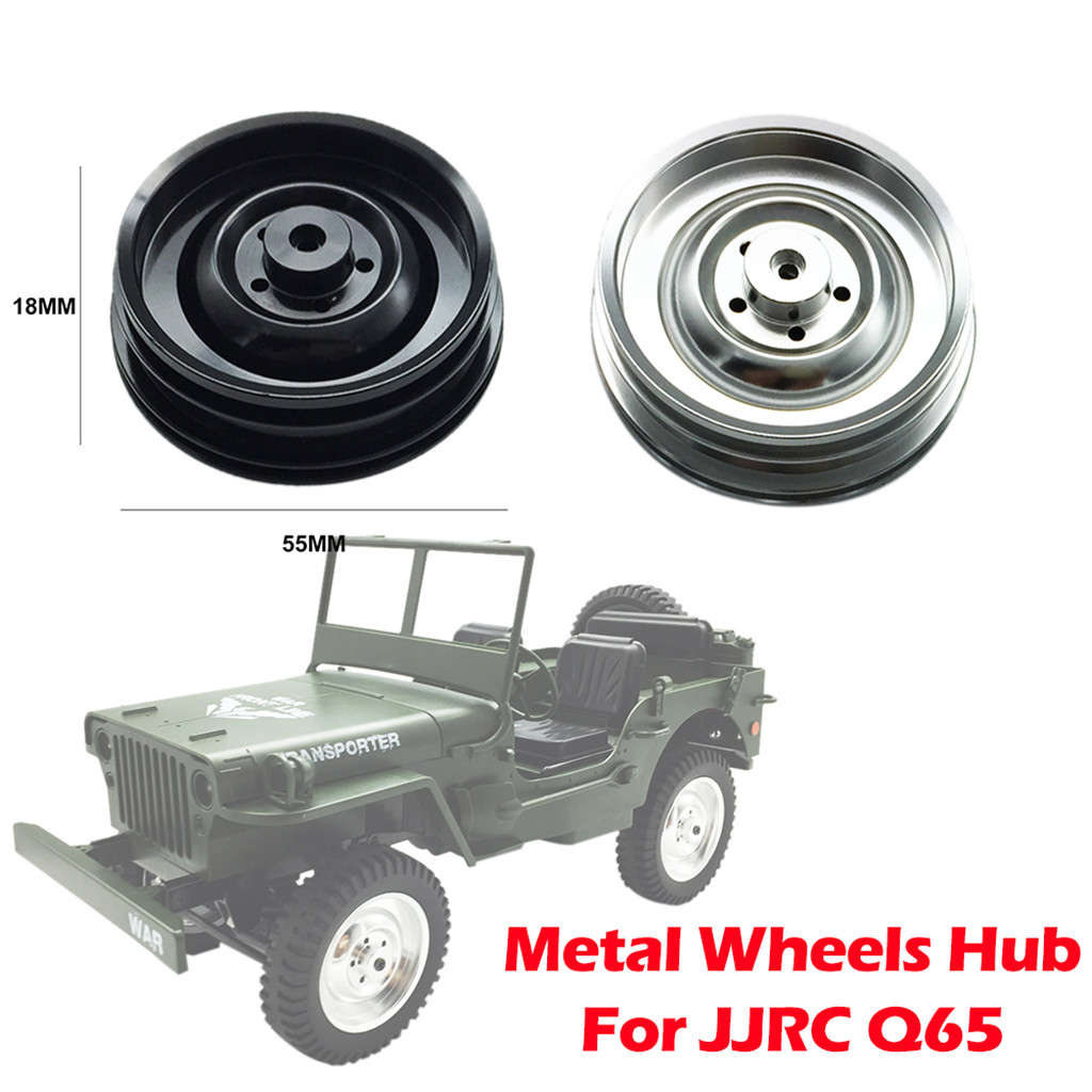 High Quality Metal Alloy Wheel Rim Hub for 1/10 <font><b>Q65</b></font> Upgrade RC Car Spare <font><b>Parts</b></font> <font><b>Parts</b></font> Accessories Toys for Children image
