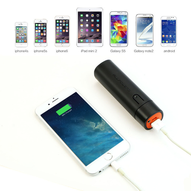 Portable Phone Chargers 5000mAh Power Bank Phone External Battery Charger for iPhone 6 6s 7 7s Samsung HTC LG and more.