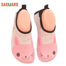 SAGUARO дитячі дівчата взуття кросівки літня швидкий сухий спорт біг протиковзкий для басейну білий басейн Дитяче взуття дівчинка кросівки