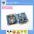Frete Grátis I2C RTC DS1307 AT24C32 Tempo Real Módulo Relógio para Arduino AVR ARM 51 PIC