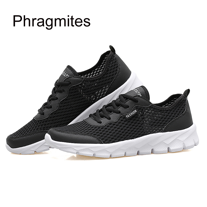 Phragmites Unisex Summer Breathable Casual Shoes Fasion Men 39 s Shoes Sports Running Large Size Shoes Lover Flats in Men 39 s Casual Shoes from Shoes