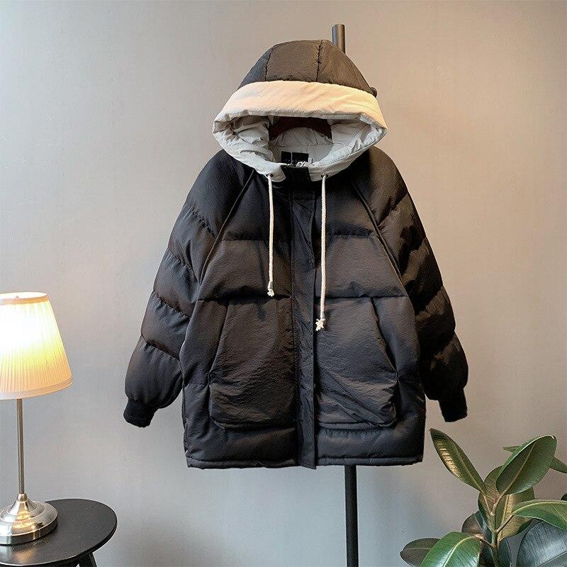Capuche Slim Mode Hiver Épais Coton Nouvelles À Cerise De Longues Manteau K617 Femmes Hd4b2019 XZTwiOkuP
