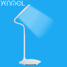 Yenmol Led Desk Lamp 5W Rechargeable 3 Brightness Levels Led Study Reading Table Lighting Touch Control Lamps Bureau TDBT02