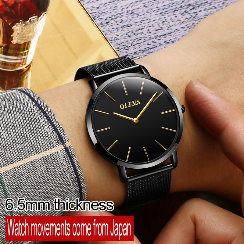 OLEVS Κορυφαία ασημένια ρολόγια μάρκας - Ανδρικά ρολόγια - Φωτογραφία 4