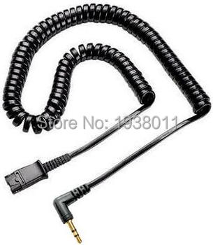 2.5mm Headset Cord for Plantronics QD Compatible Headsets Quick Disconnect cable with 2.5mm plug plantronics зарядка
