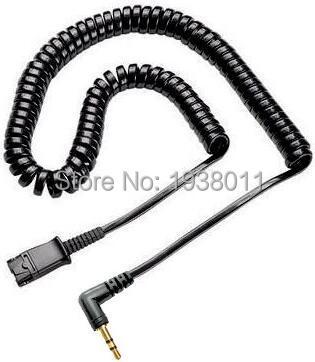 bilder für 2,5mm kopfhörerkabel für plantronics qd kompatibel headsets schnelltrenn kabel mit 2,5mm stecker