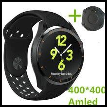 (EN STOCK) 1.39 Pulgadas Kingwear MTK6580 KW88 Reloj Inteligente 3G Android 5.1 SmartWatch 3G 2.0MP Cámara Podómetro Monitor Del Ritmo Cardíaco