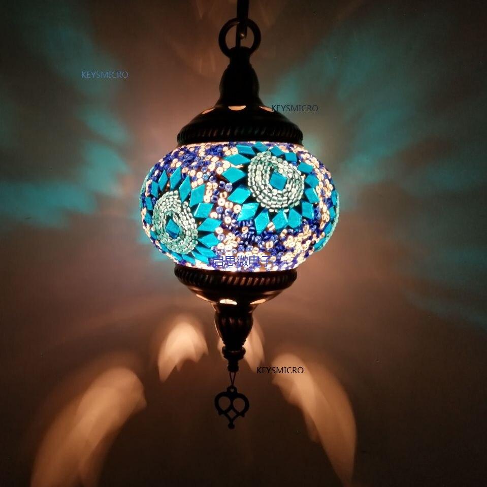 Neue stil E14 Türkei handgemachte romantische Balkon Korridor Treppenhaus Anhänger lampe cafe restaurant bar baum Hotel Anhänger licht